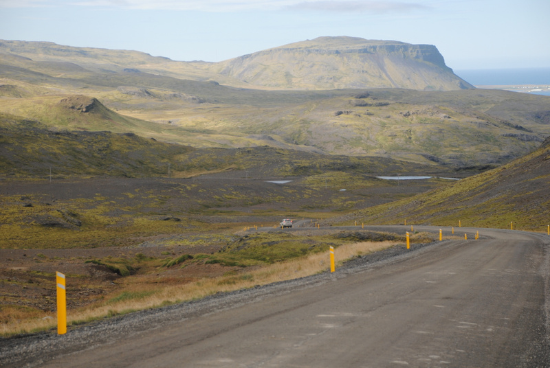 Road to the fjord