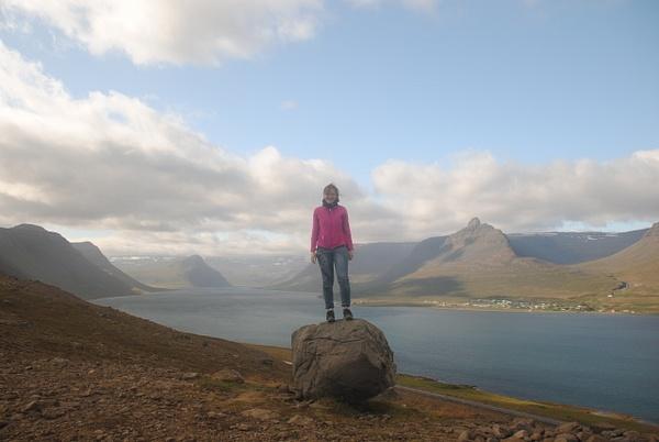 Over the fjord :) by Maria Dzeshchanka