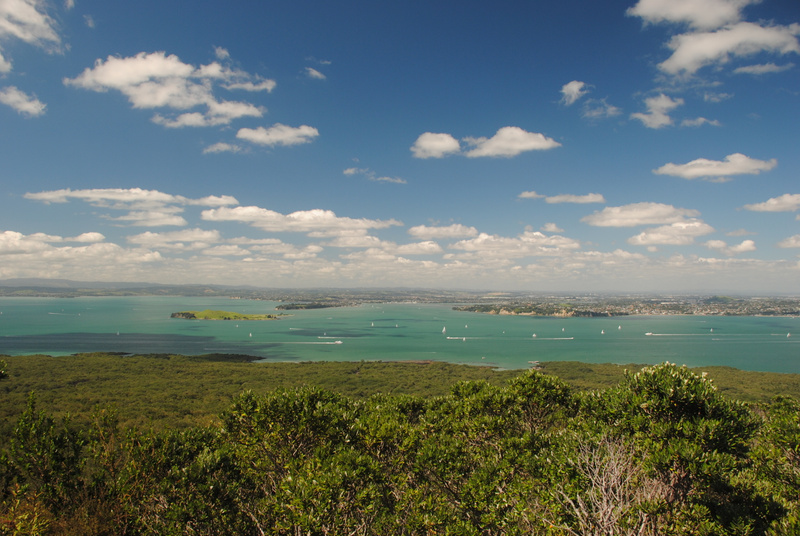 View from Rangitoto Island