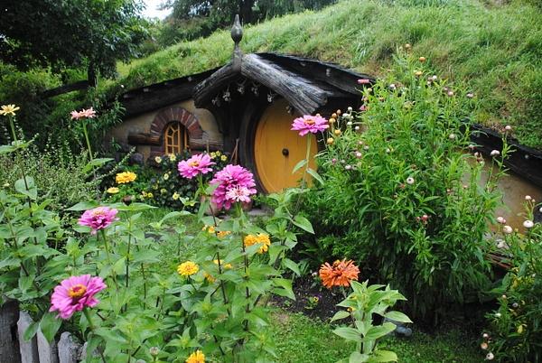 Hobbiton by Maria Dzeshchanka