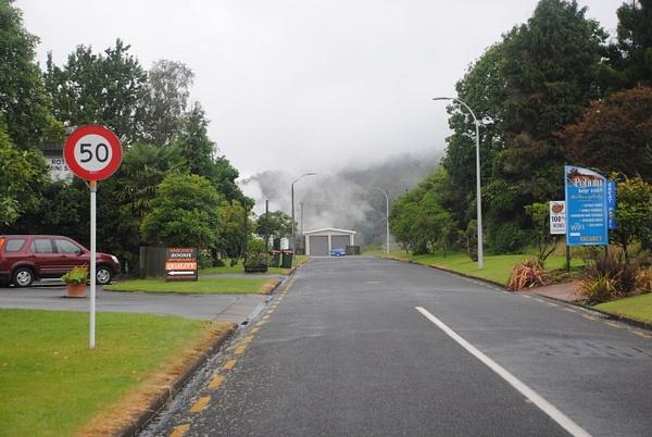 Typical view of Rotorua :)) by Maria Dzeshchanka
