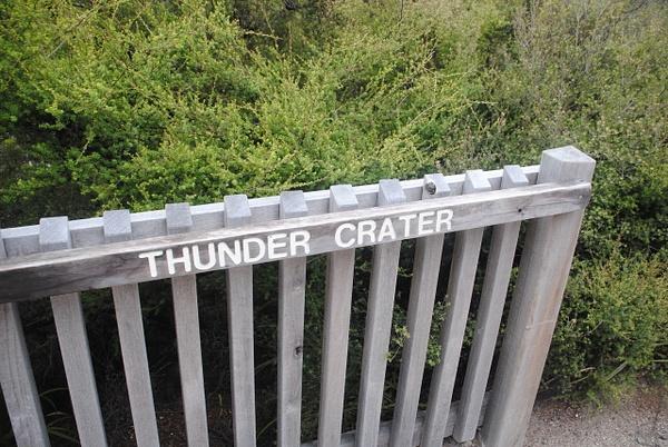 Thunder Crater by Maria Dzeshchanka