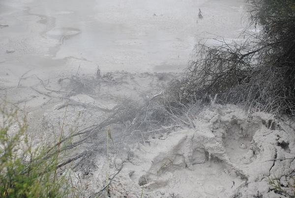 Mud Pool by Maria Dzeshchanka