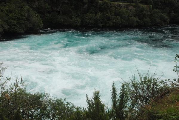 Huka Falls by Maria Dzeshchanka