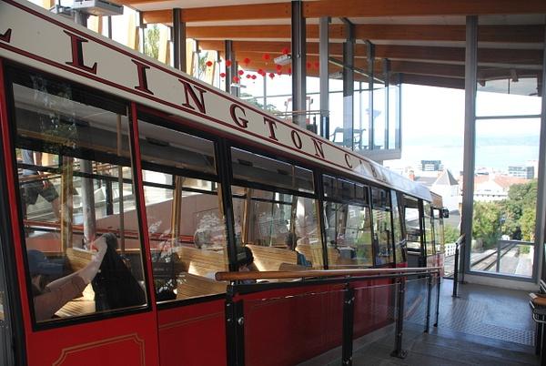 Wellington cable car by Maria Dzeshchanka