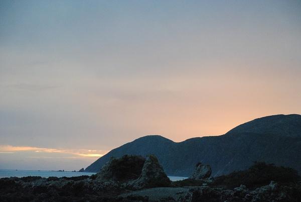 Wellington, Island Bay by Maria Dzeshchanka
