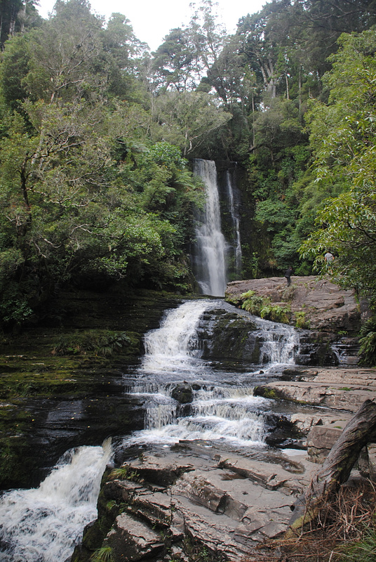 Nice waterfall in the middle of nowhere
