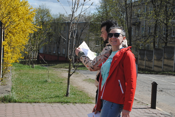'Гранит науки', ул. Лазо, 12 by Maria Dzeshchanka