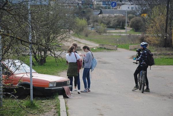 'Тачка', ул. Алтайская, 83/6 by Maria Dzeshchanka