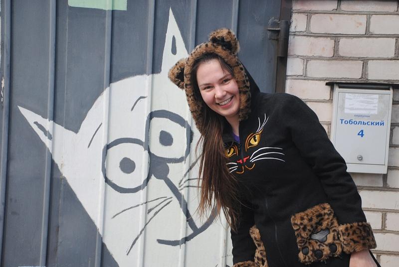 Фото котика с котиком :)