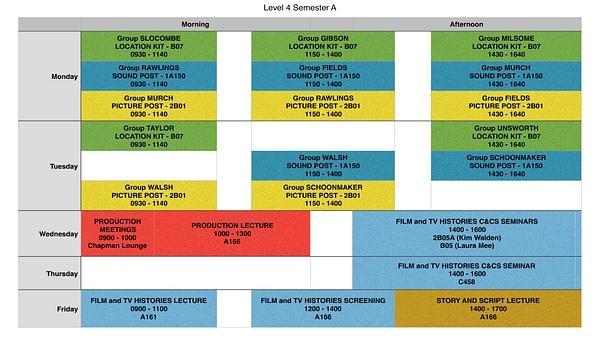 Timetable by JacobNico-katz