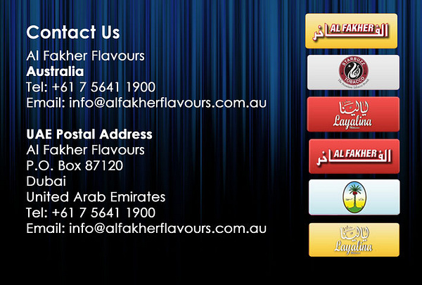 AlFakher Flavours Australia by AaidenBabs89 by AaidenBabs89