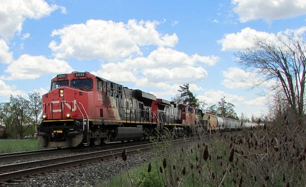 CN Locomotive Pictures by RobertArcher