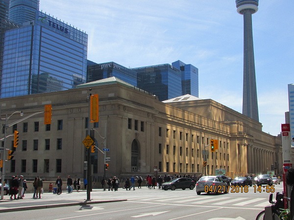 Toronto Union Station and Union Station Rail Corridor by RobertArcher