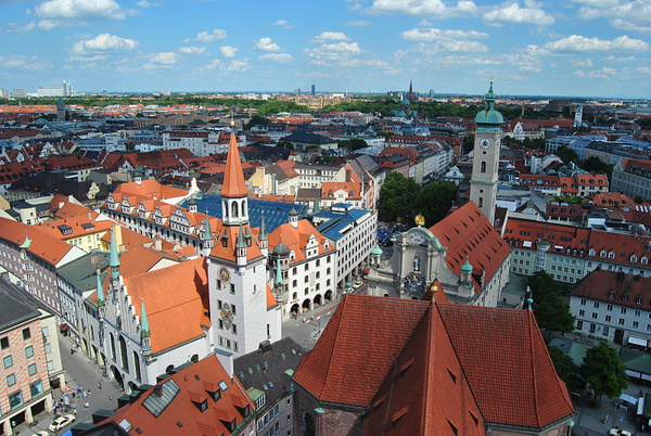 munich from above by Angelika