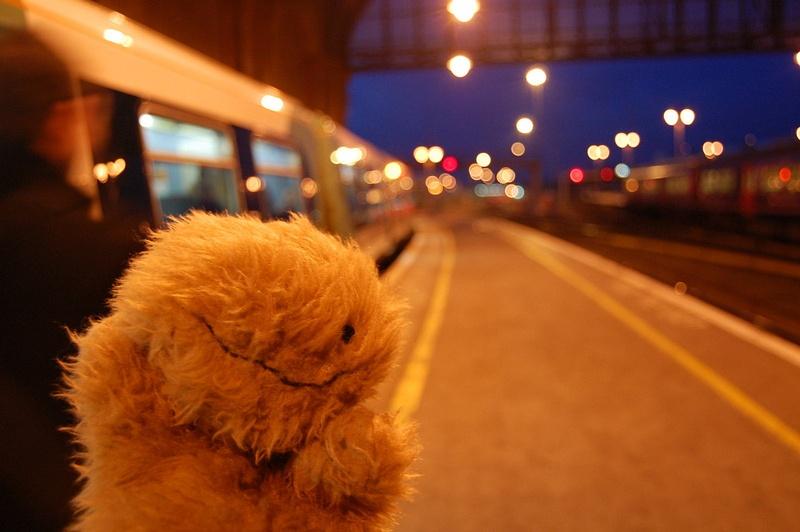 Saucisse in Brighton station