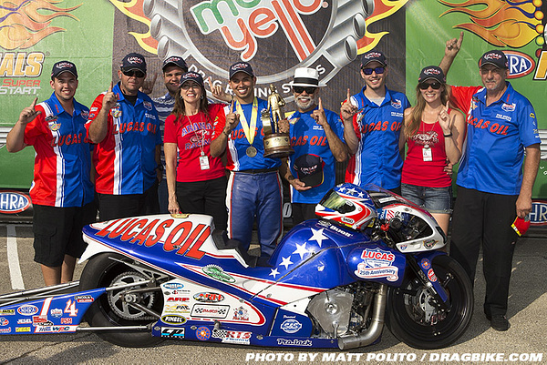 2014 NHRA  Chicago by Dragbike
