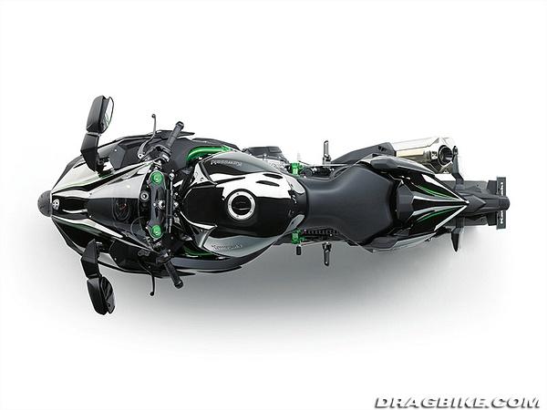 2015 Kawasaki Ninja H2 - Street Version by Dragbike