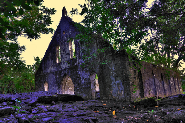 LMS church Savaii, Samoa by soulJAH