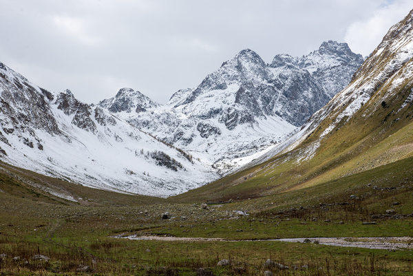 Dombai hiking september 2013 by Muzzyenn