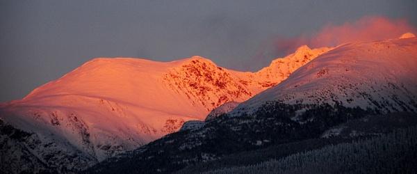Whistler-Blackcomb Mountains by Marv Ferg