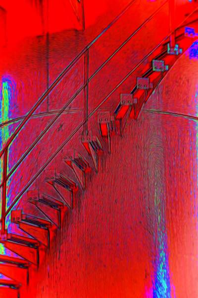 Hot Electric Stairs