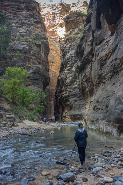 2015Oct Zion National Park, The Narrows by Willis Chung