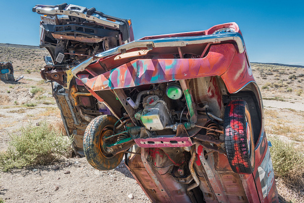 2017Sep International Car Forest of the Last Church, Goldfield, Nevada by Willis Chung