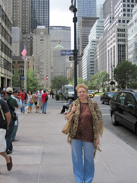 Mama in New York by MikhailBlinovskov