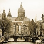 Old fashioned Amsterdam
