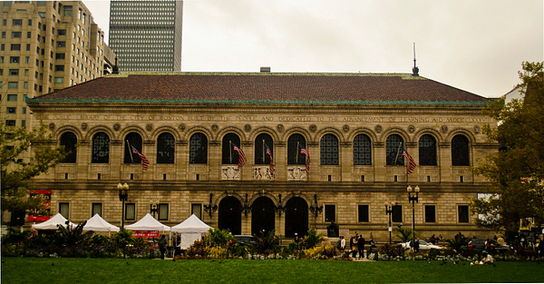 Boston Public Library by DMont