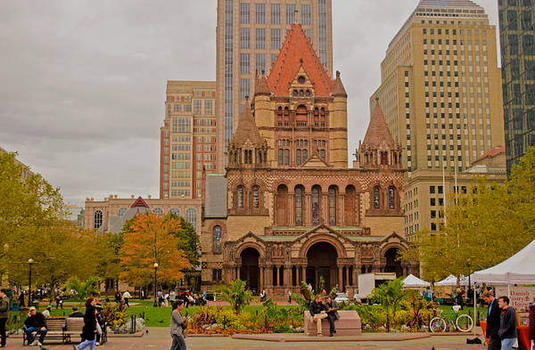 Trinity Church by DMont