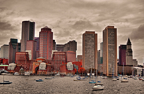Boston in October by DMont