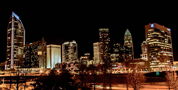 Charlotte Night View by DMont