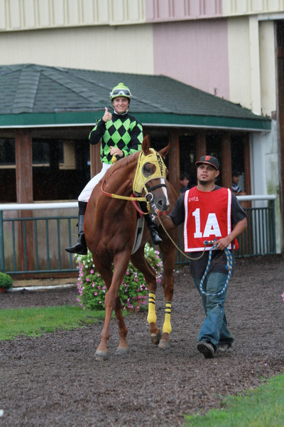 Sept 2, 2013 @ Parx Racing by Chris Forbes