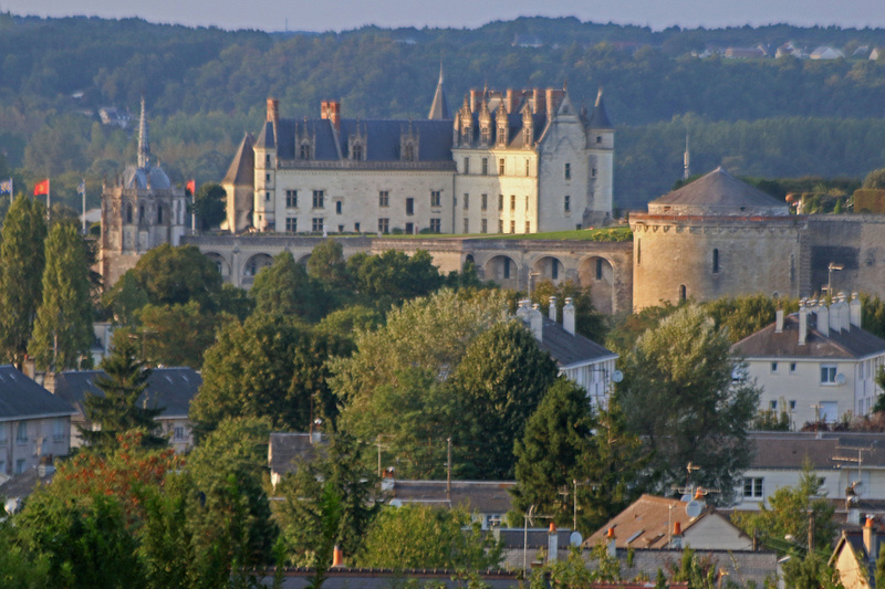 Château d'Amboise viewed from our hotel