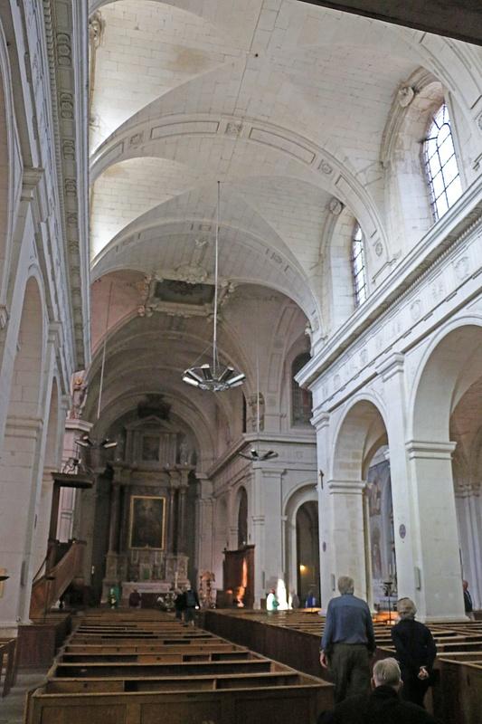 Interior, Church of Notre Dame
