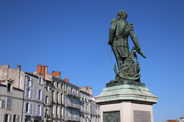 Admiral Duperré of La Rochelle, a French naval hero of the Napoleonic Wars