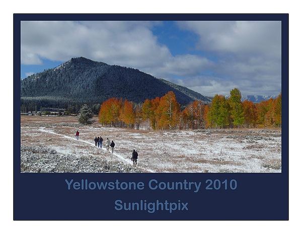 2010 Yellowstone Calendar - L by Sunlightpix