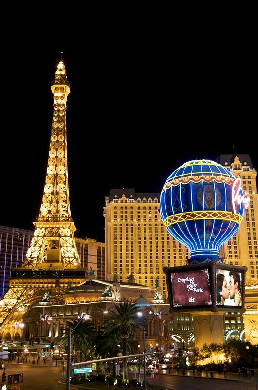 Paris Hotel. Las Vegas