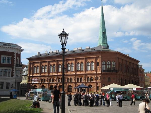 Art Museum Riga Bourse by Clarissa