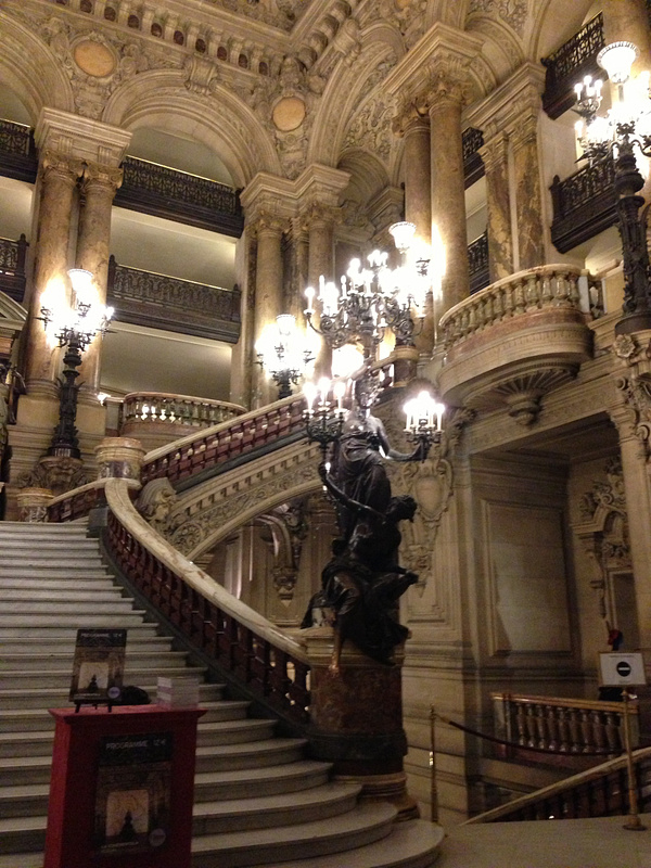 Opera Garnier. L'escalier