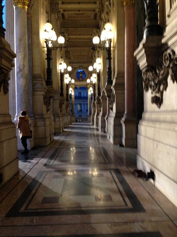 Opera Garnier. Le balcon.