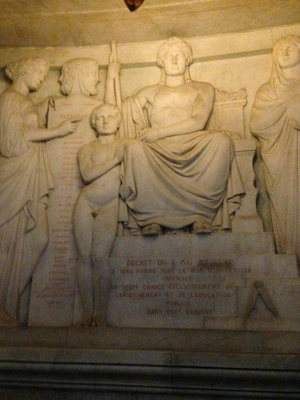 Dôme des Invalides, tombeau de Napoléon Ier.