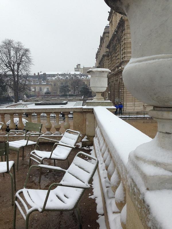 Triste Jardin de Luxembourg