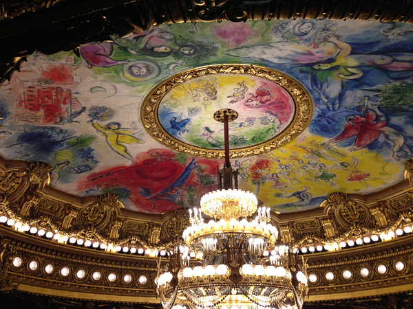 Opera Garnier. Le plafond de Marc Shagall by Clarissa