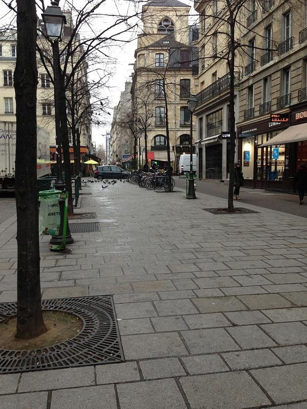 La rue on Marais