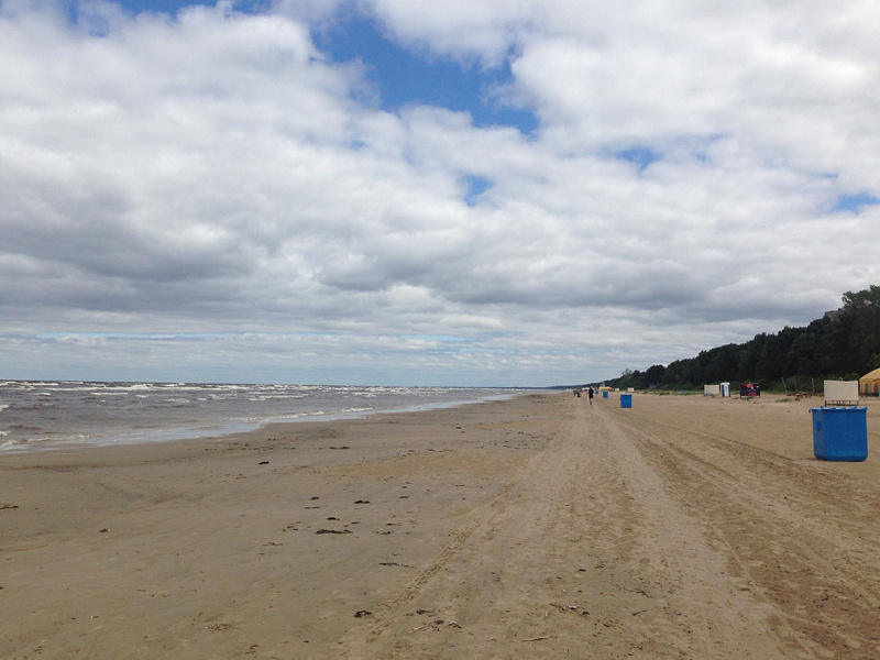 Beach of Jurmala