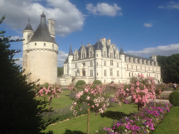 Chenonceau castle by Clarissa