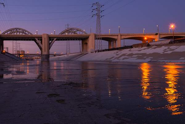 6th Street Bridge-Night